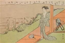 Suzuki Harunobu woodblock