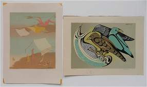 Dorr Bothwell 2 serigraphs