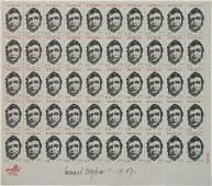 after Leonard Baskin stamps