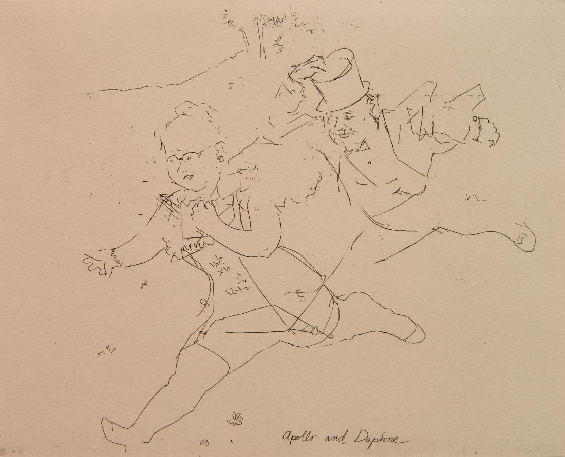 Jack Levine etching