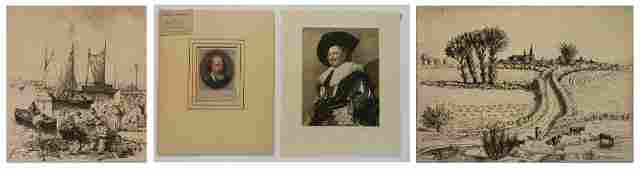 4 European prints