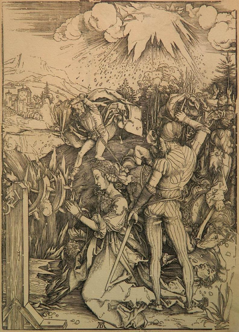 Albrecht Durer woodcut