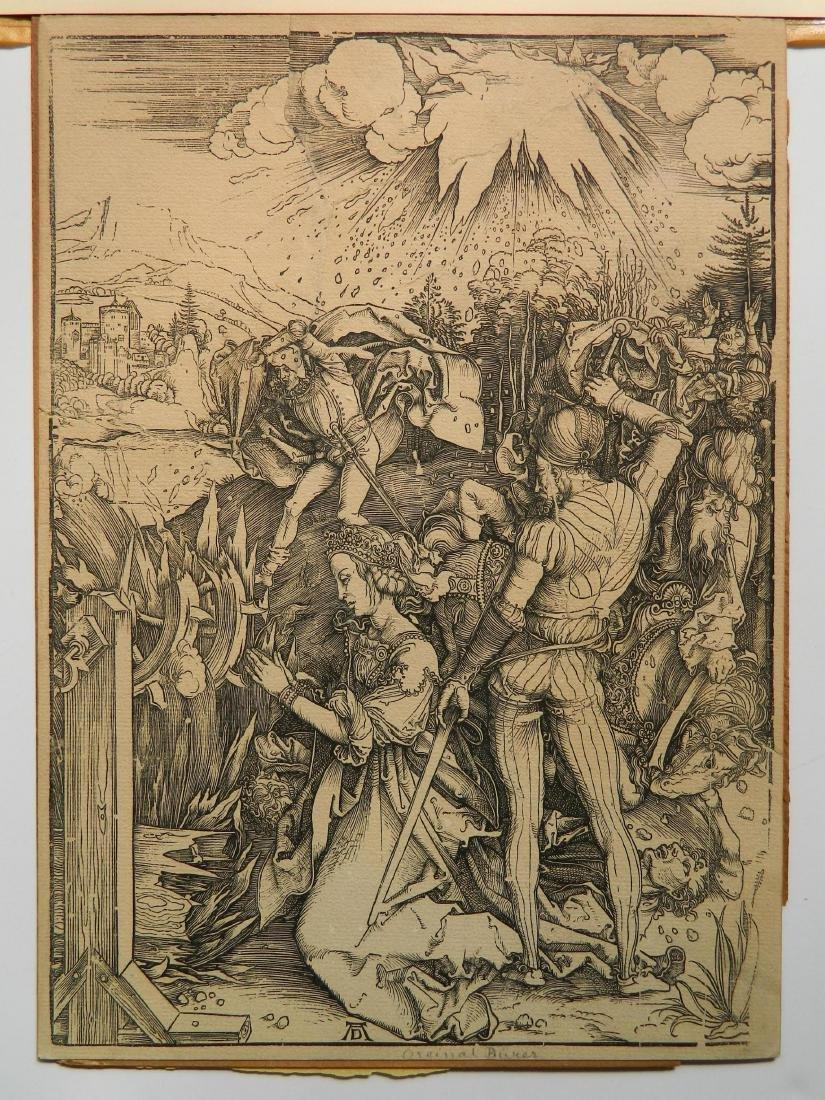 Albrecht Durer woodcut - 2