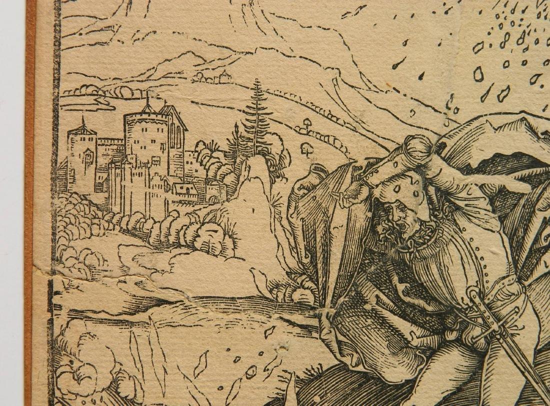 Albrecht Durer woodcut - 4