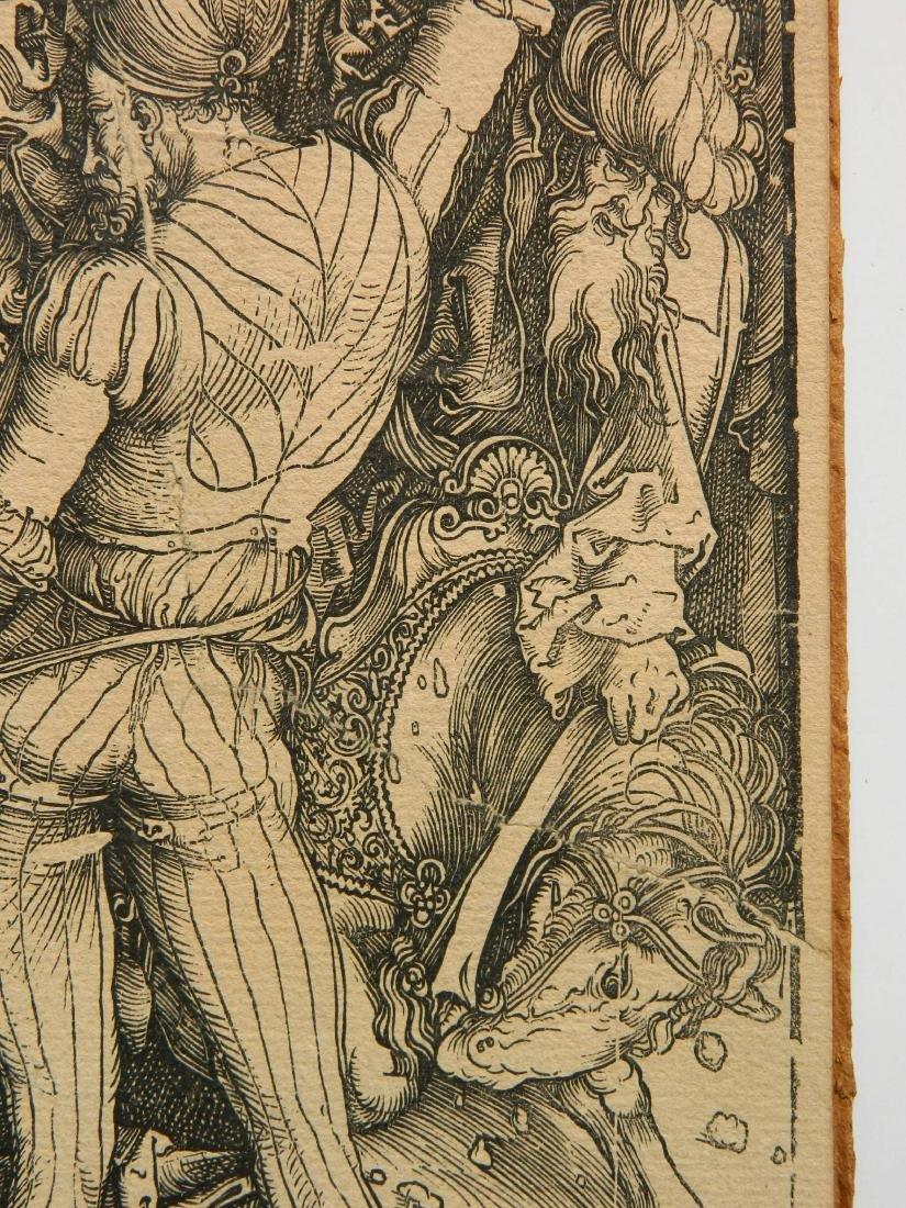 Albrecht Durer woodcut - 5