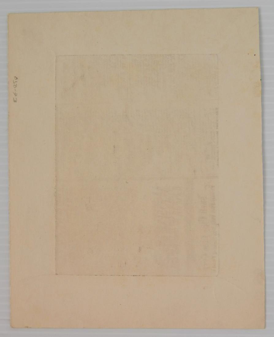 Albert Abramovitz wood engraving - 4