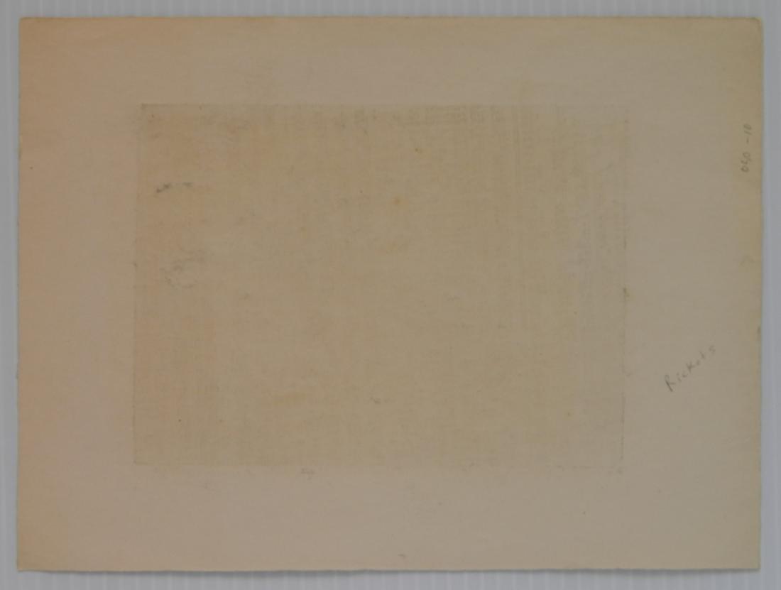 Albert Abramovitz wood engraving - 3