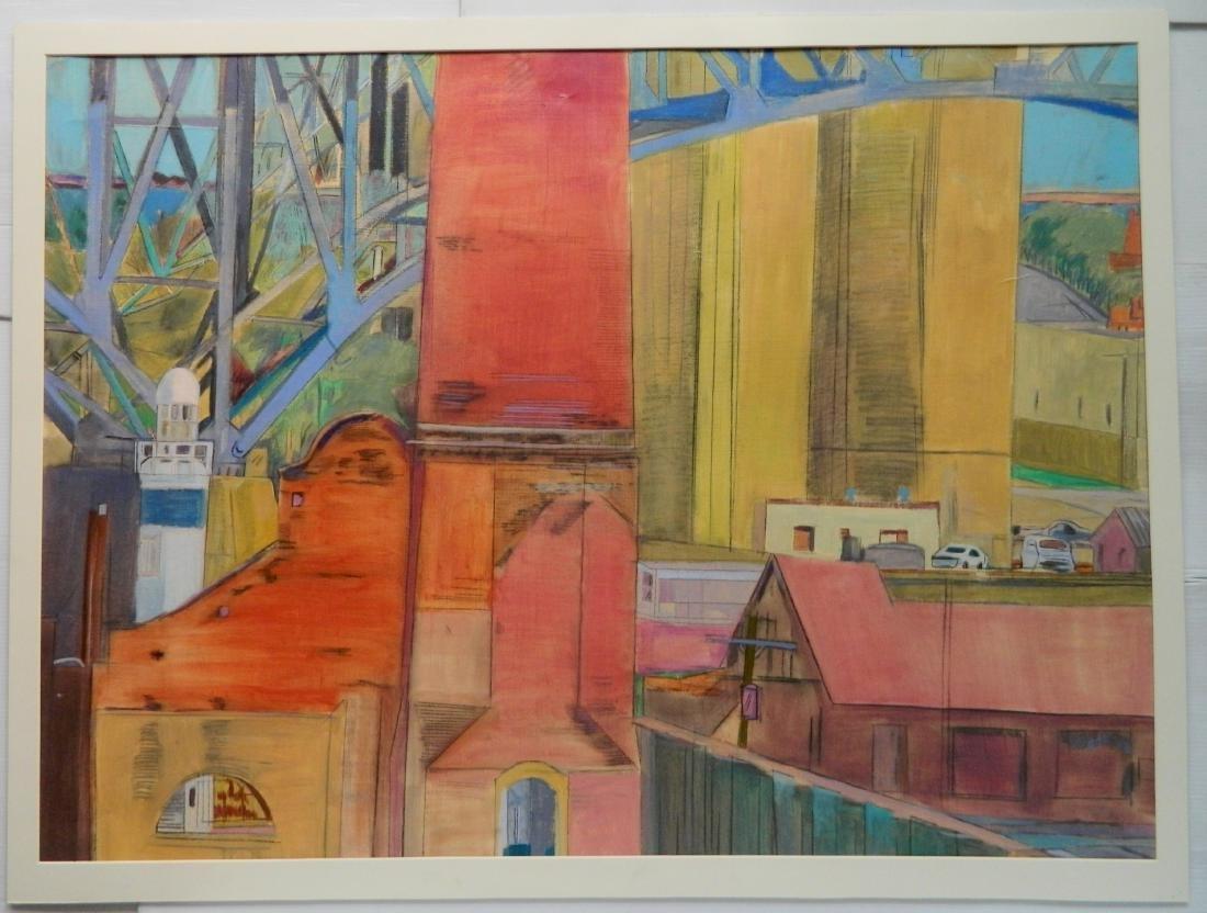 Phyllis Seltzer acrylic - 3