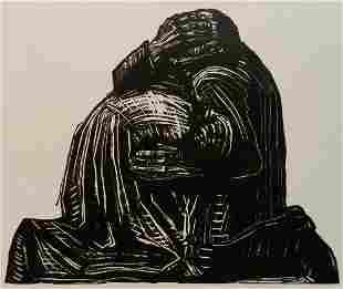 Kathe Kollwitz woodcut