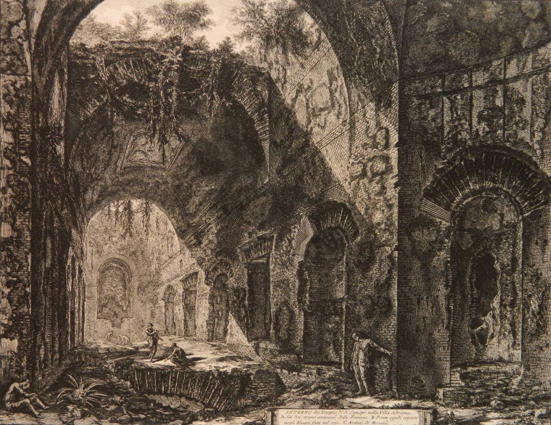 Giovanni Battista Piranesi etching
