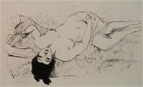 Walt Kuhn lithograph