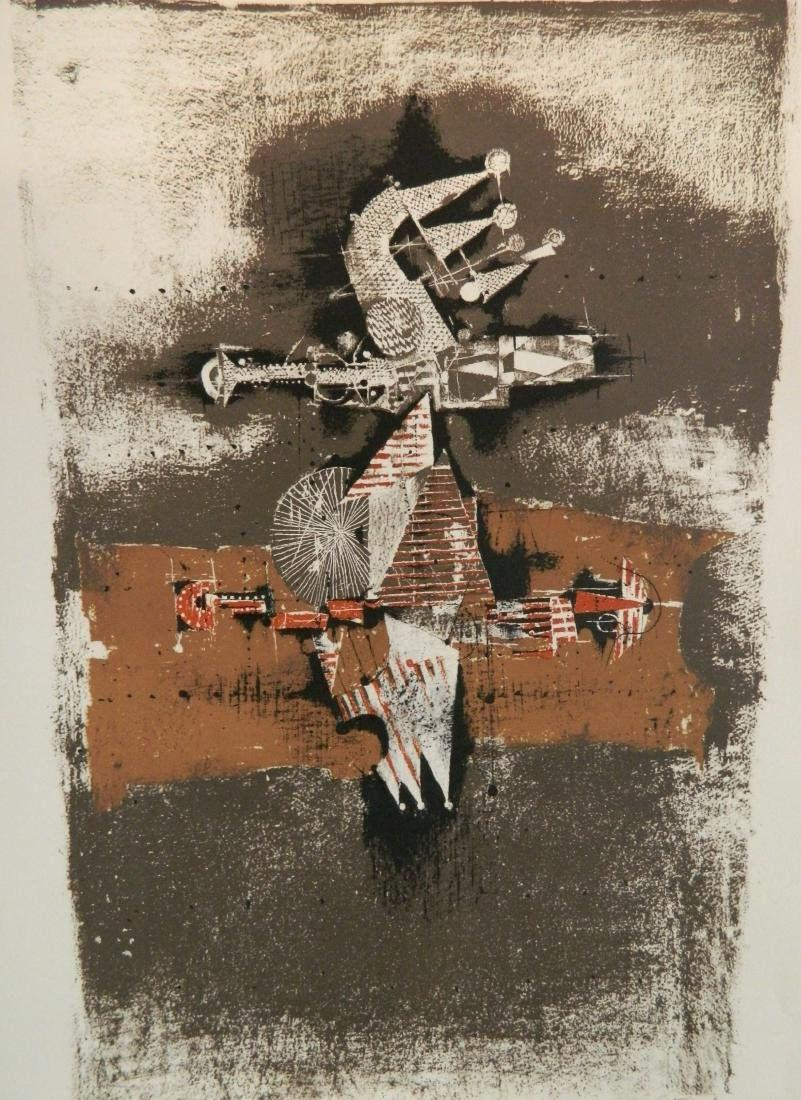 Johnny Friedlaender etching and aquatint
