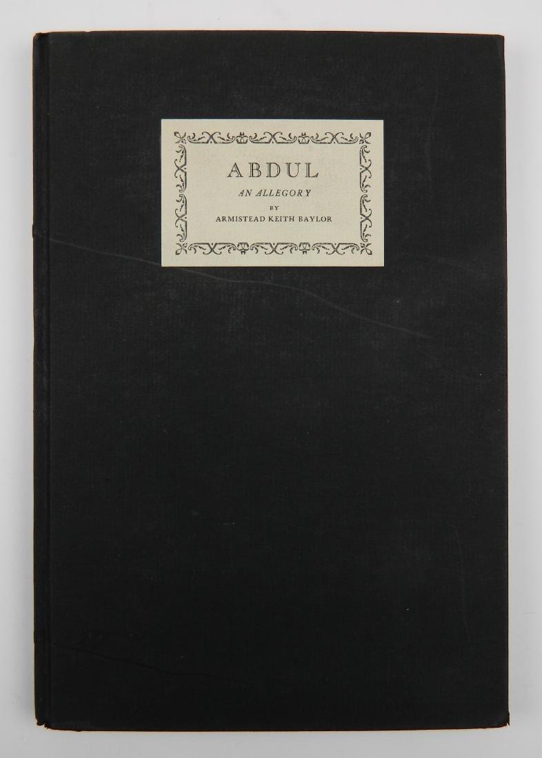 Baylor- Abdul, An Allegory - 2