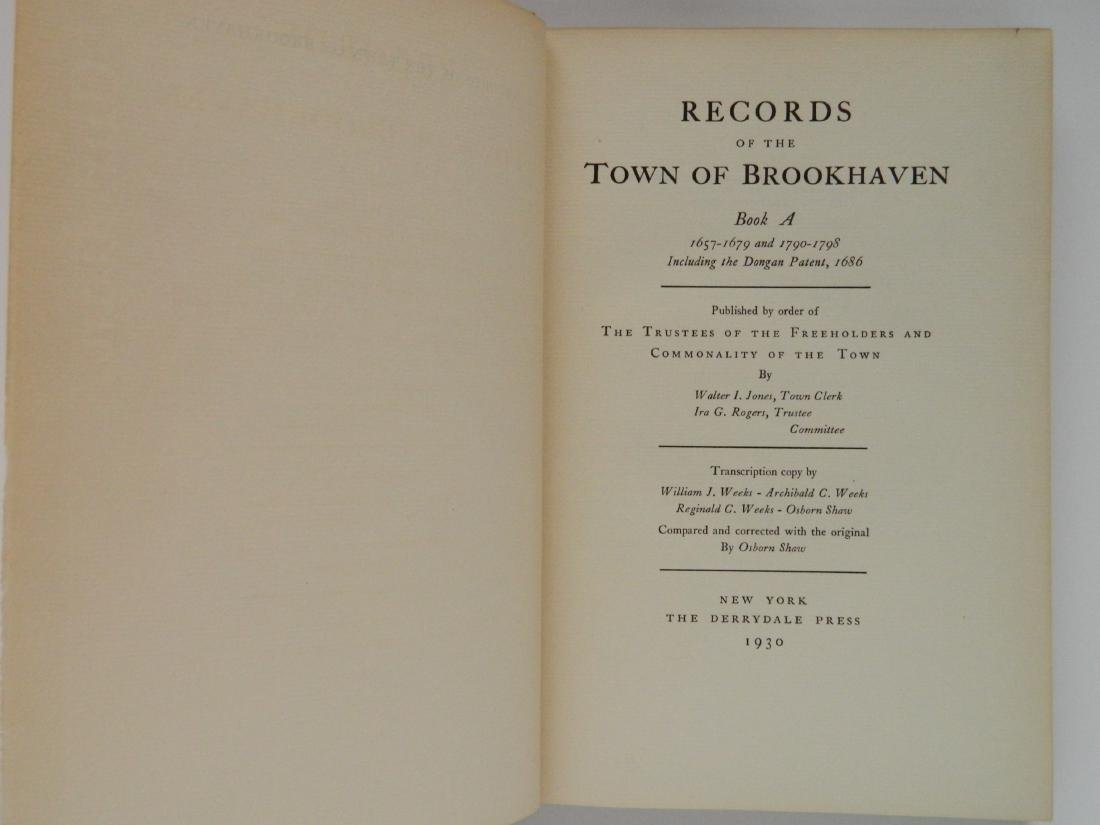 Records of The Town Brookhaven, Book A, B & C - 3