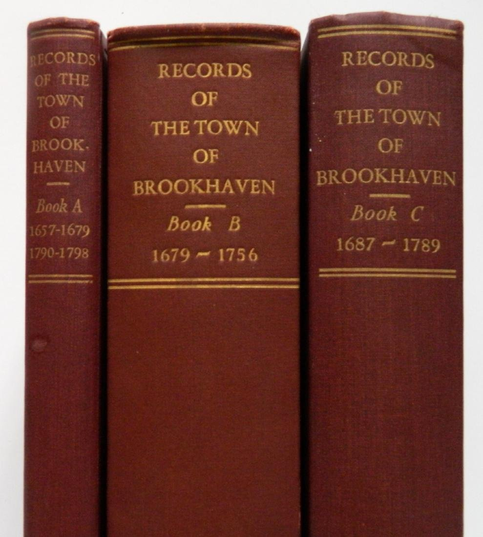 Records of The Town Brookhaven, Book A, B & C - 6