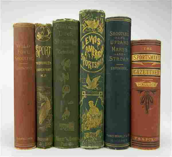 6 Books on Hunting and Fising