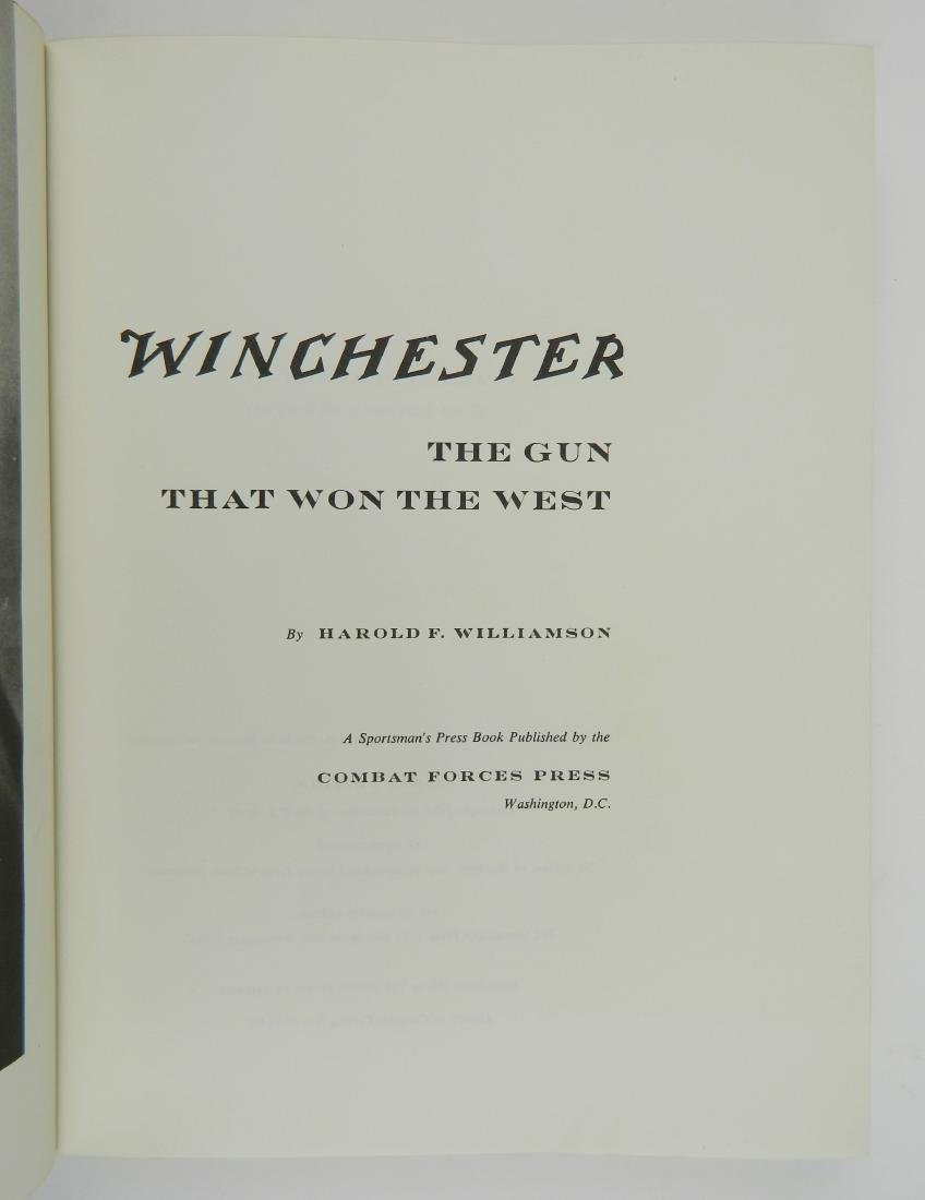 Harold Williamson- Winchester The Gun that Won the - 5
