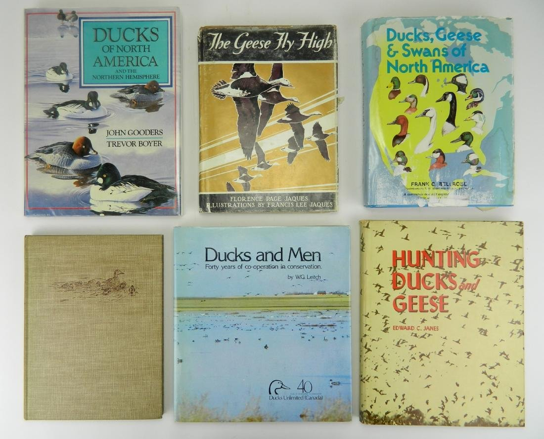 16 Books on Ducks and Geese - 2