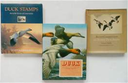 3 Books on Duck Stamps