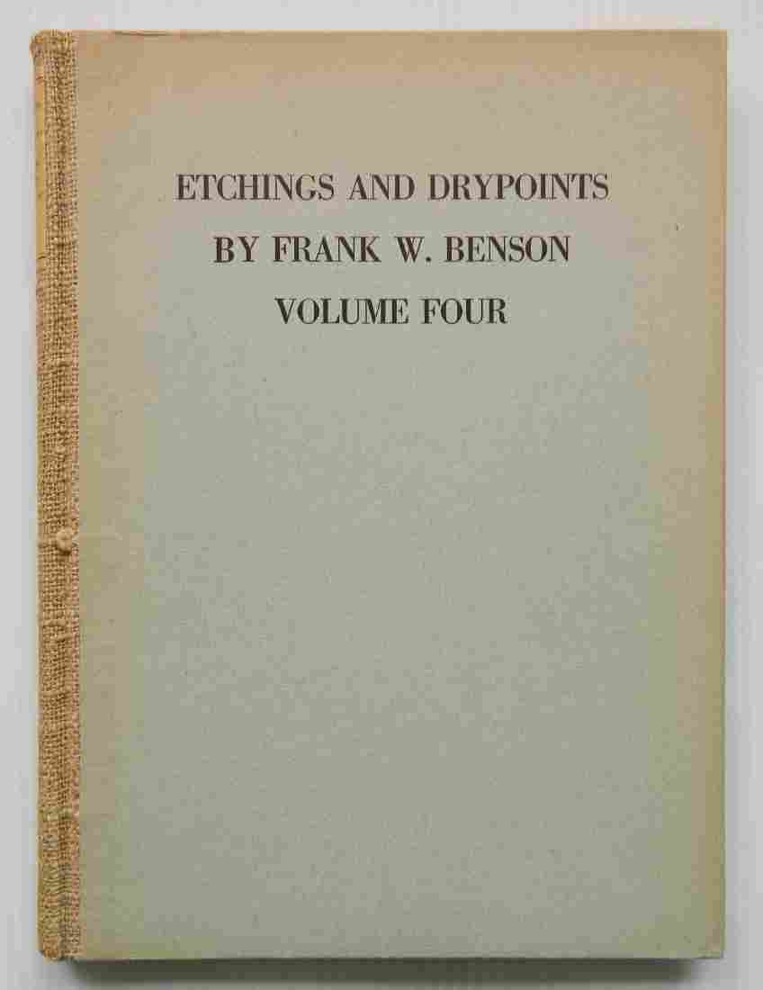 Paff Drypoints by Benson vol 4