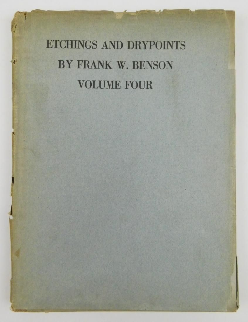 Paff- Etchings & Drypoints by F.W.Benson, Vol.IV