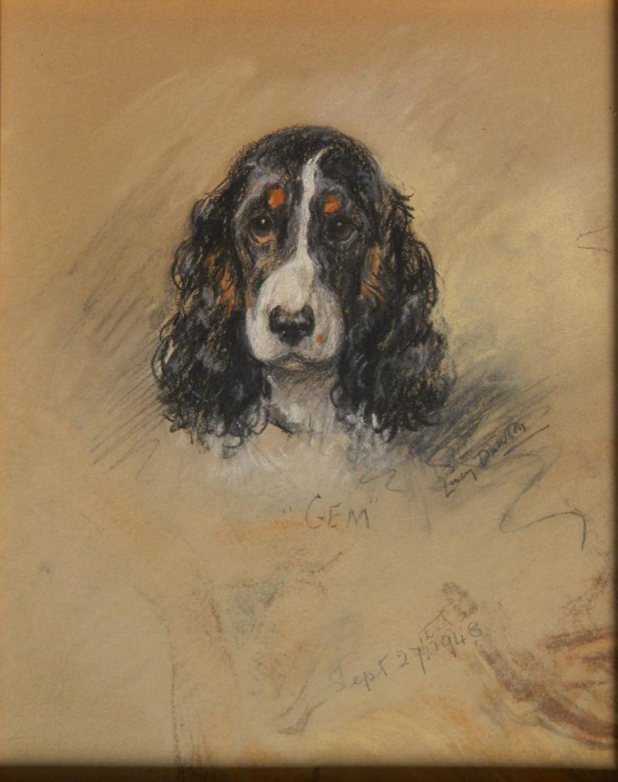 Lucy Dawson pastel on paper