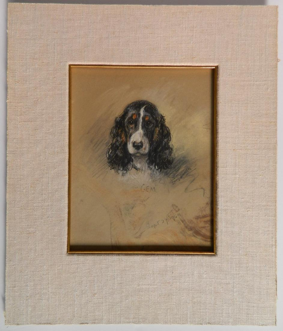 Lucy Dawson pastel on paper - 2