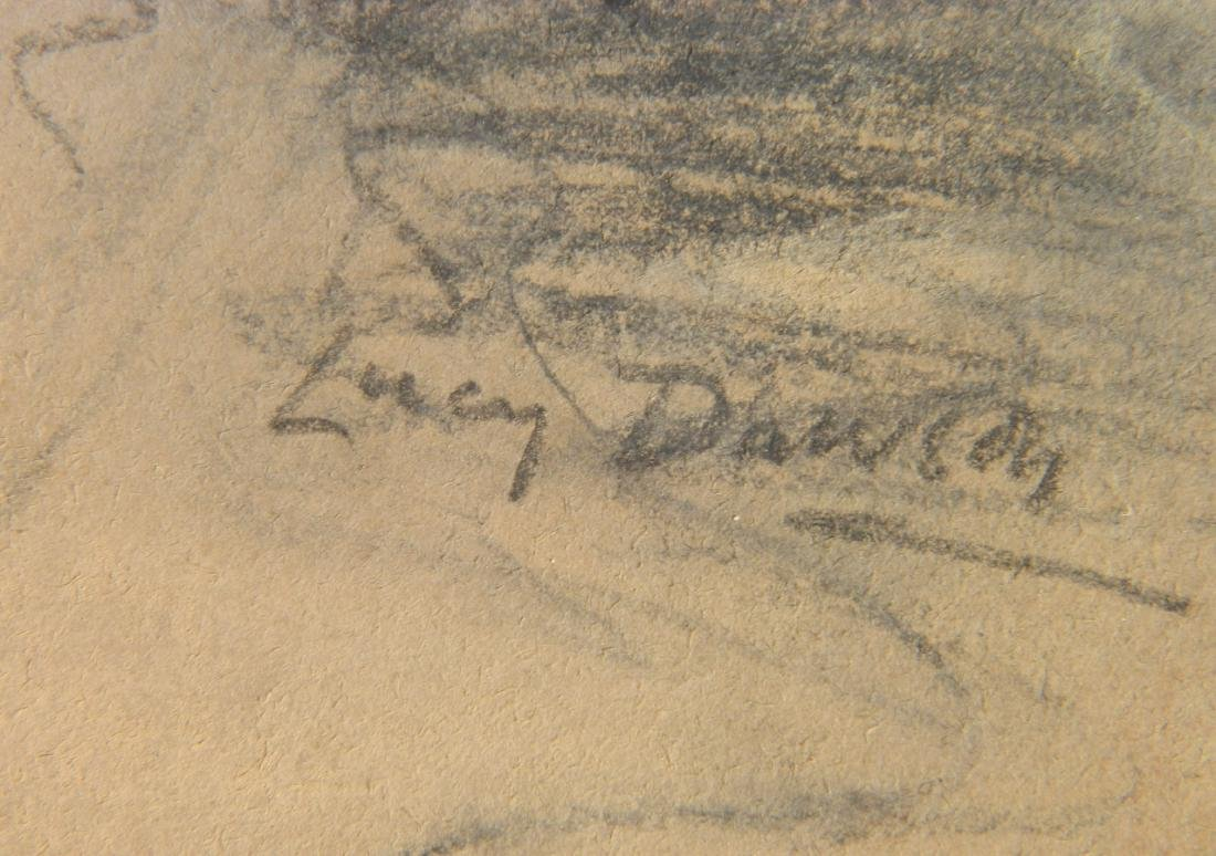 Lucy Dawson pastel on paper - 3