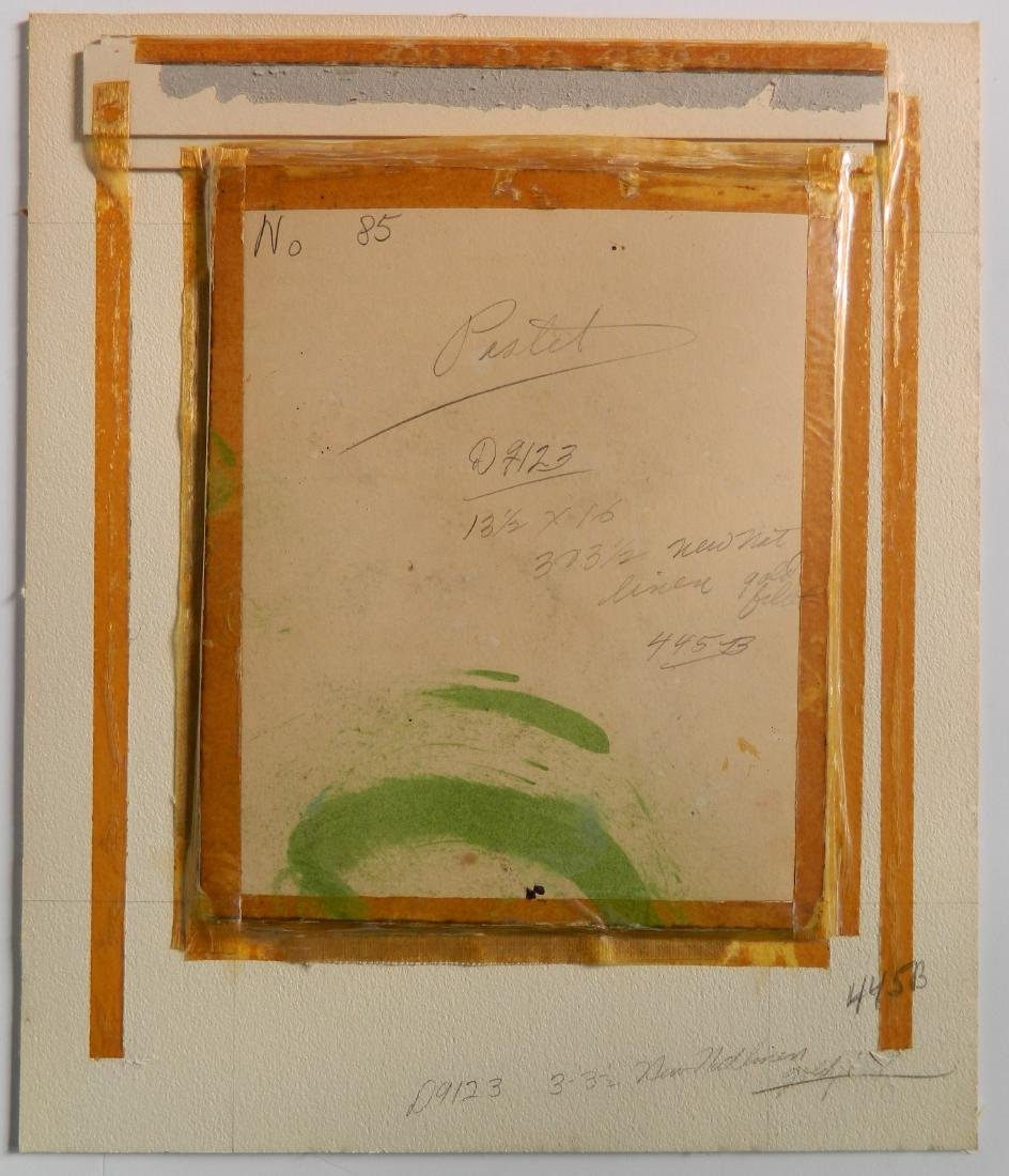 Lucy Dawson pastel on paper - 4