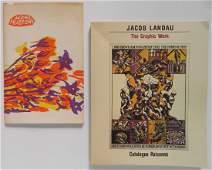 2 Books- Jacob Landau; Antonio Frasconi