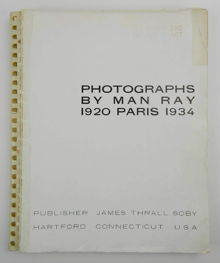 Ray- Photographs by Man Ray 1920 Paris 1934