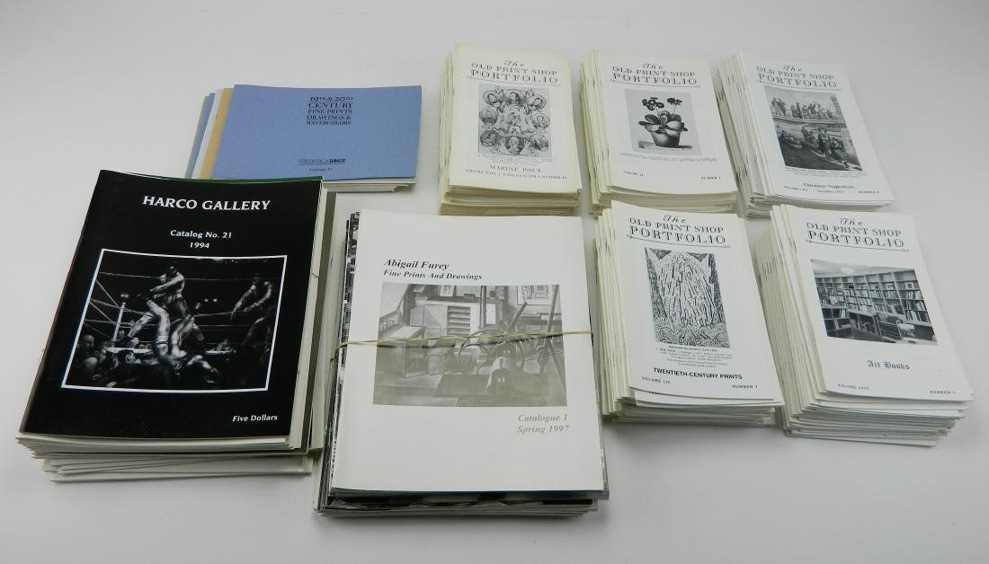 Lot of Dealer catalogs