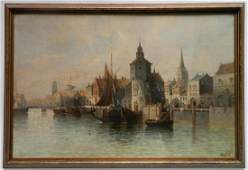August Siegert oil
