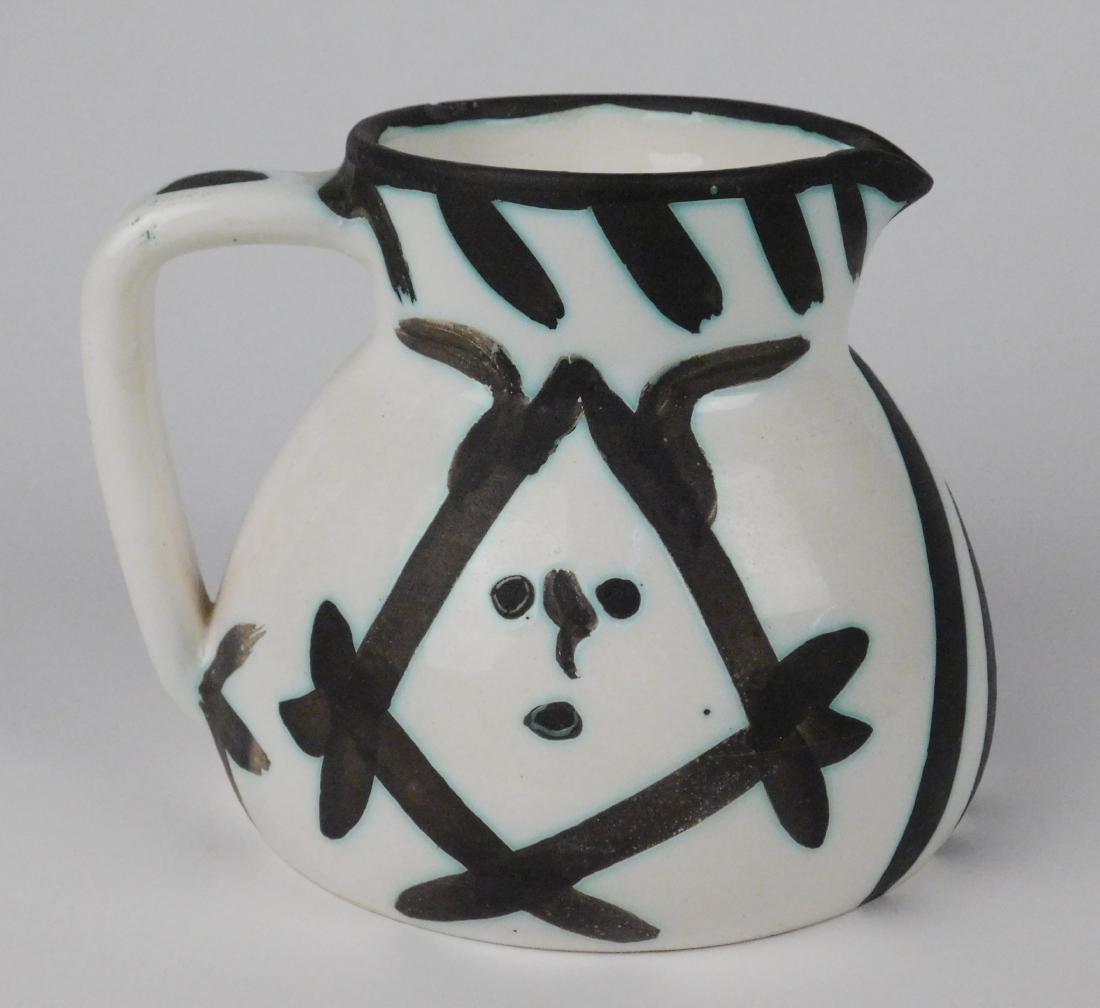 Pablo Picasso ceramic pitcher