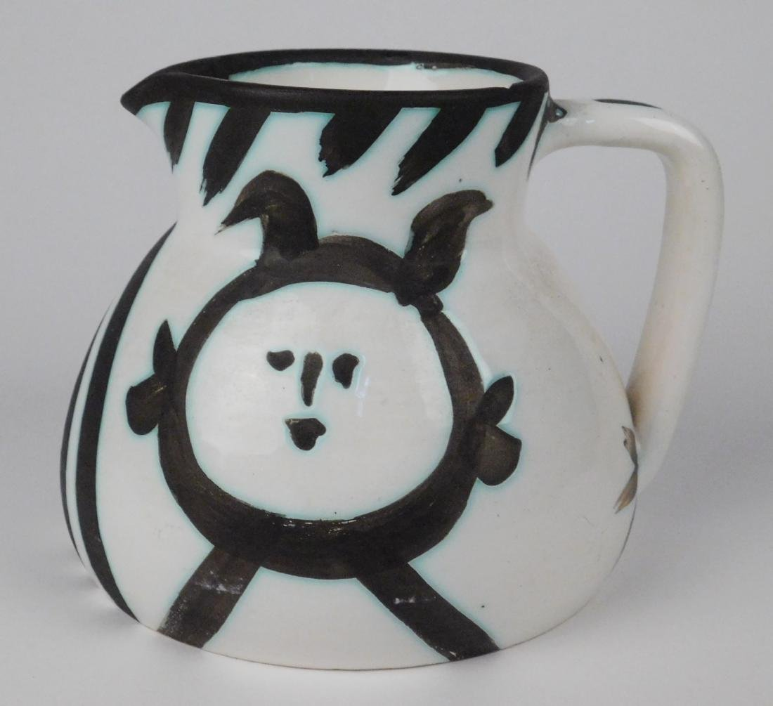 Pablo Picasso ceramic pitcher - 3
