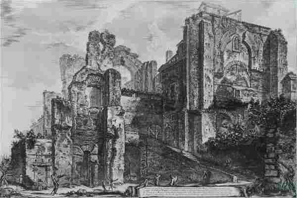 Giovanni Piranesi etching