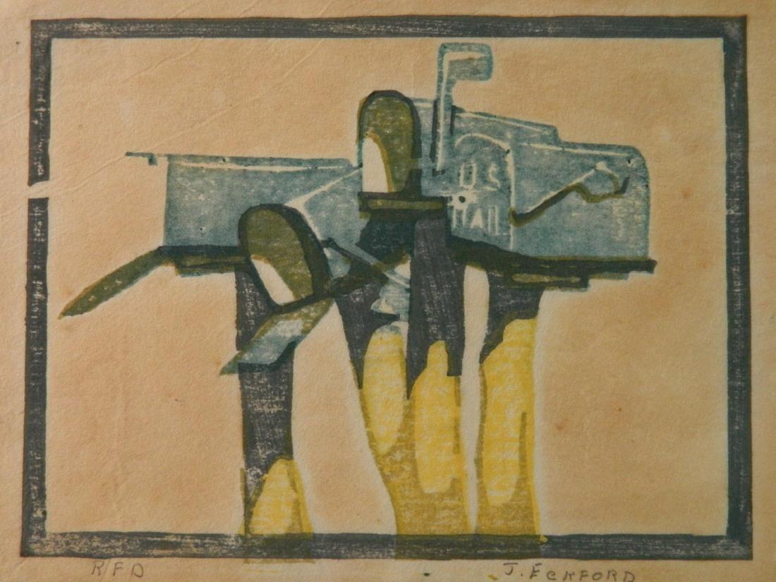 JessieJo Eckford woodcut