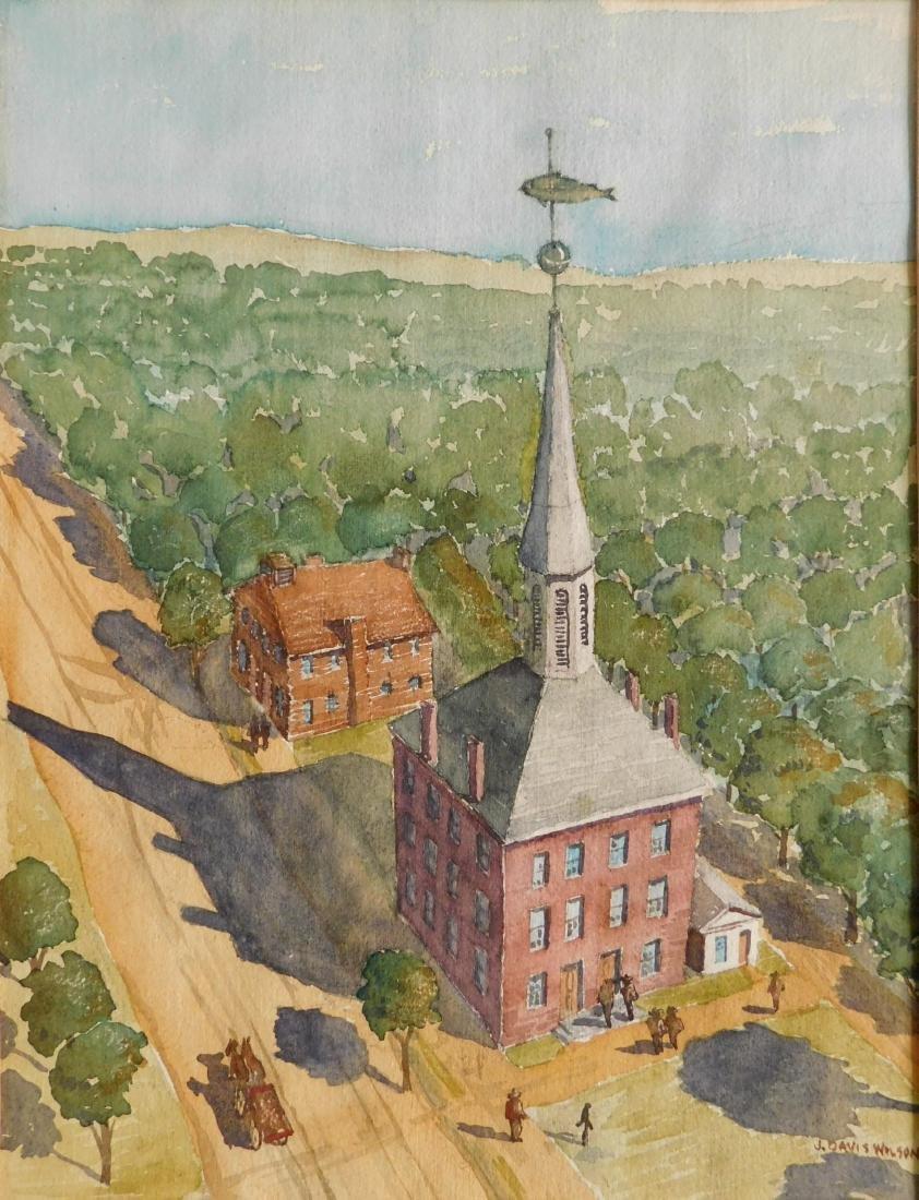 J. Davis Wilson watercolor