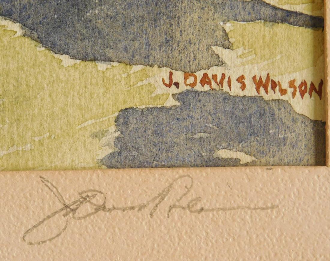 J. Davis Wilson watercolor - 3