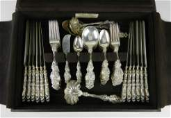 Set of Whiting sterling silver flatware