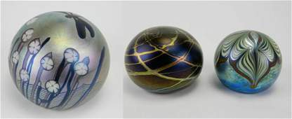 Orient & Flume glass paperweight
