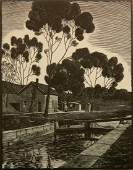 William P. Cunningham wood engraving