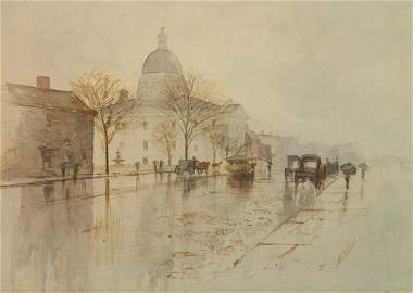 Charles F. W. Mielatz watercolor
