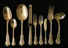 Set of Tiffany Co. sterling silver flatware