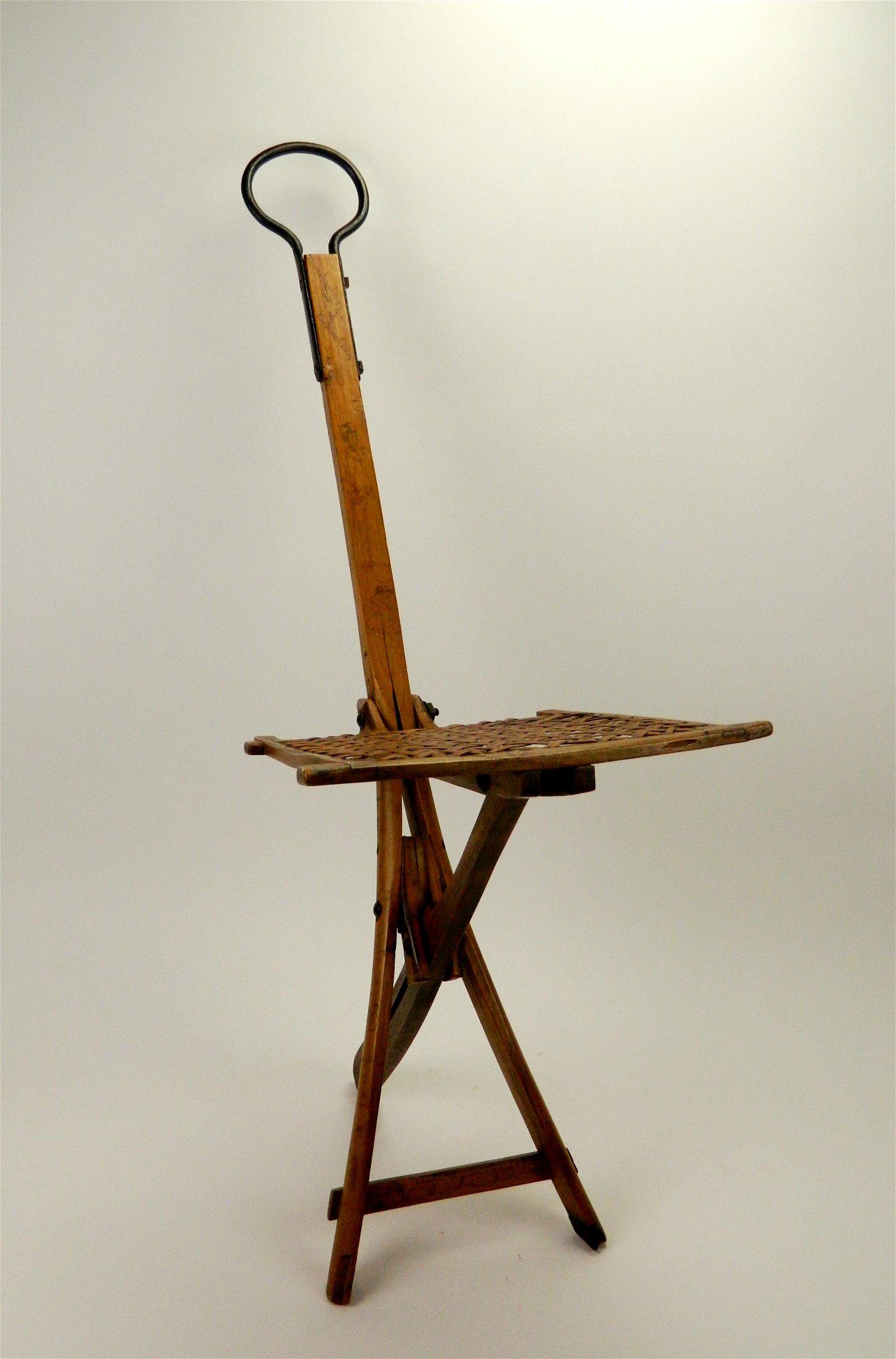 Hosea Hayden camp stool