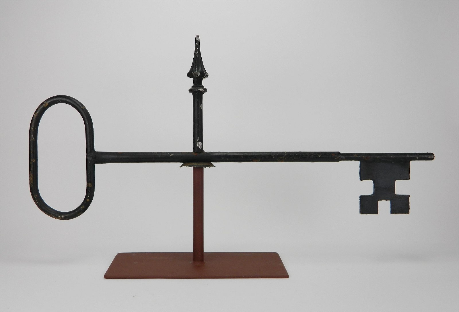 Iron 'Key' weathervane