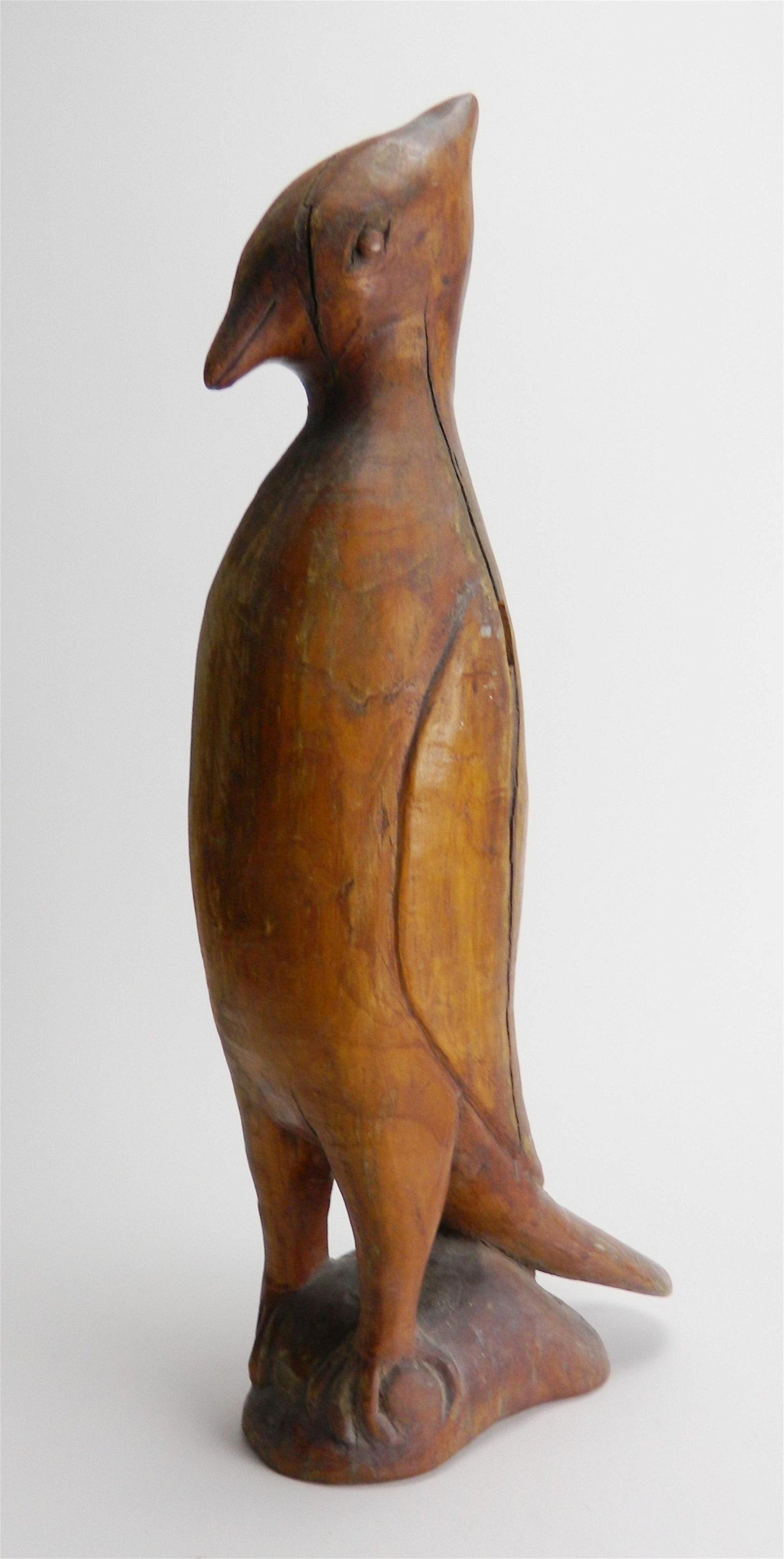 Silvio P. Zoratti wood carving