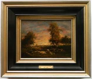 Theodore Rousseau oil