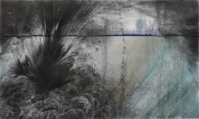 Judith Brandon mixed media drawing