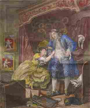 William Hogarth engraving